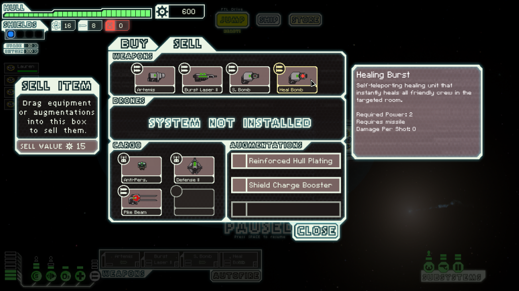 FTL Ship improvements