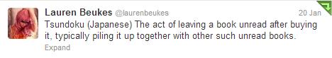 Tweet Lauren Beukes